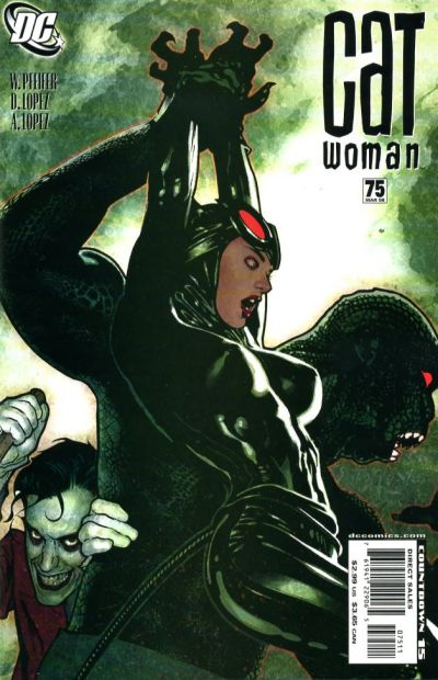 Cover for Catwoman (DC, 2002 series) #75 [Adam Hughes Cover]