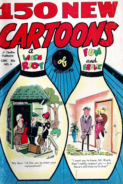 Cover for 150 New Cartoons (Charlton, 1962 series) #6