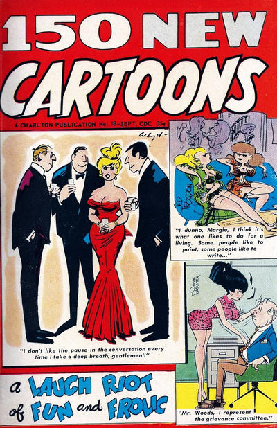 Cover for 150 New Cartoons (Charlton, 1962 series) #18