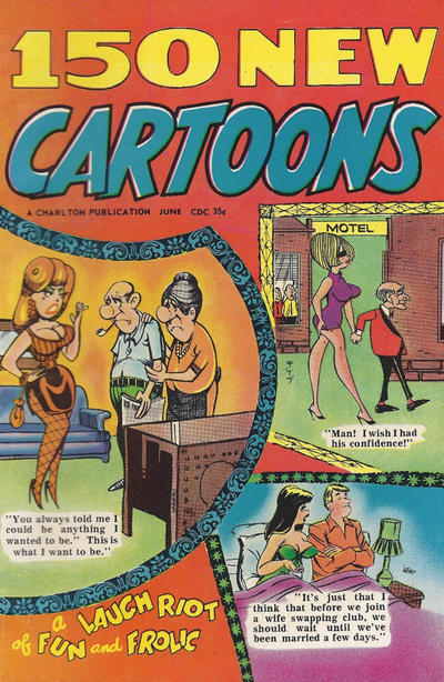 Cover for 150 New Cartoons (Charlton, 1962 series) #28