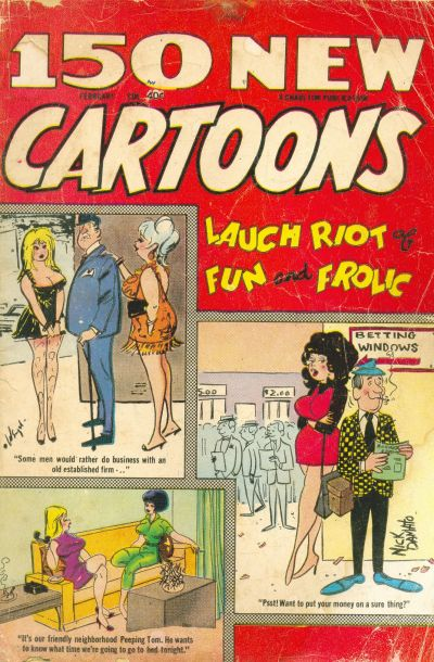 Cover for 150 New Cartoons (Charlton, 1962 series) #38