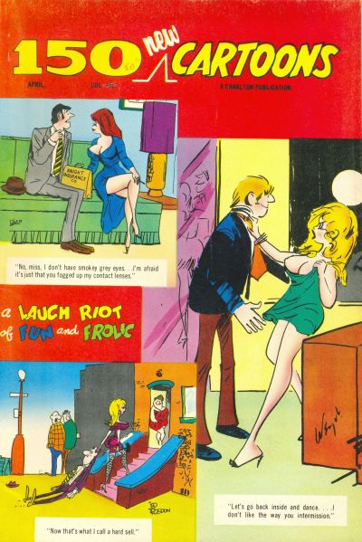 Cover for 150 New Cartoons (Charlton, 1962 series) #45