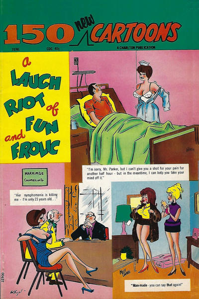 Cover for 150 New Cartoons (Charlton, 1962 series) #46