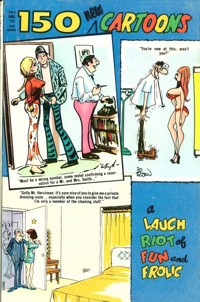 Cover for 150 New Cartoons (Charlton, 1962 series) #61