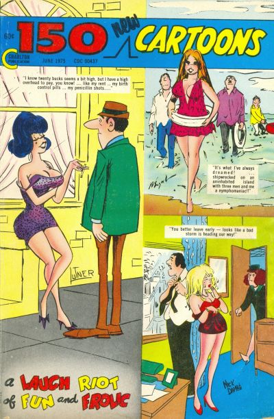 Cover for 150 New Cartoons (Charlton, 1962 series) #63
