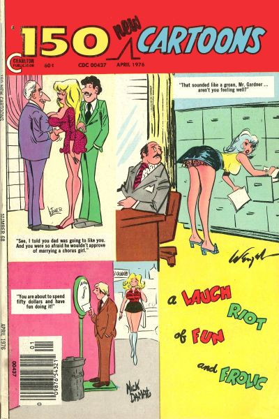 Cover for 150 New Cartoons (Charlton, 1962 series) #68