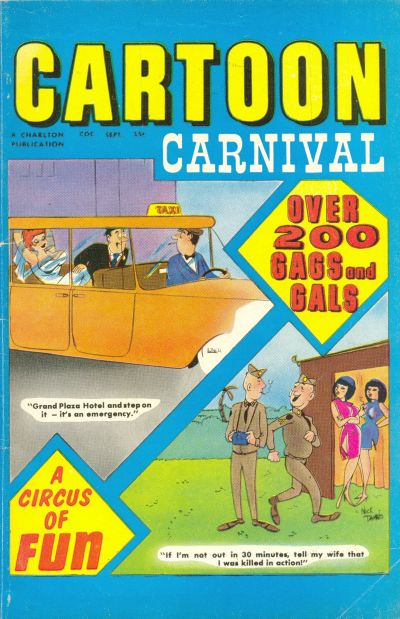 Cover for Cartoon Carnival (Charlton, 1962 series) #29
