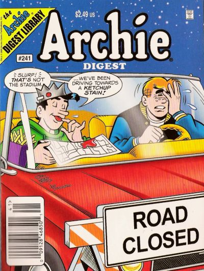 Cover for Archie Comics Digest (Archie, 1973 series) #241 [Direct]
