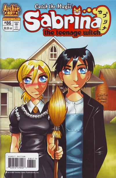 Cover for Sabrina the Teenage Witch (Archie, 2003 series) #86 [Direct Edition]