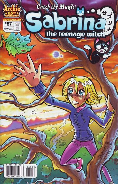 Cover for Sabrina the Teenage Witch (Archie, 2003 series) #87