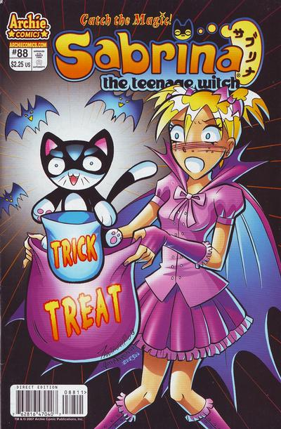Cover for Sabrina the Teenage Witch (Archie, 2003 series) #88