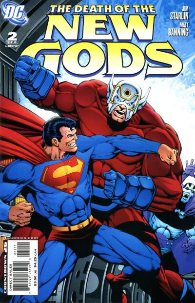 Cover for Death of the New Gods (DC, 2007 series) #2