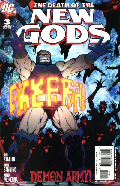 Cover for Death of the New Gods (DC, 2007 series) #3