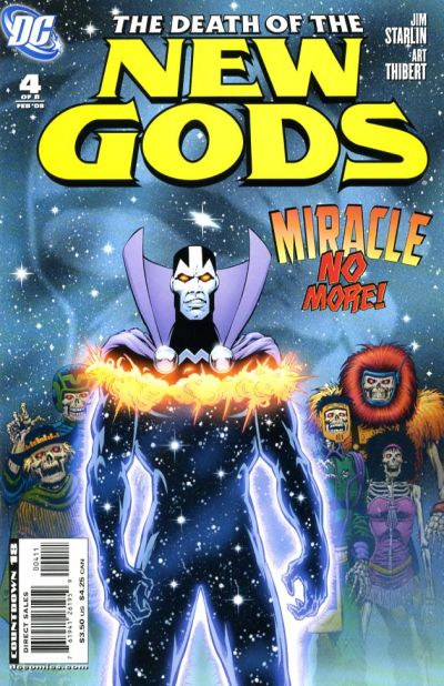 Cover for Death of the New Gods (DC, 2007 series) #4