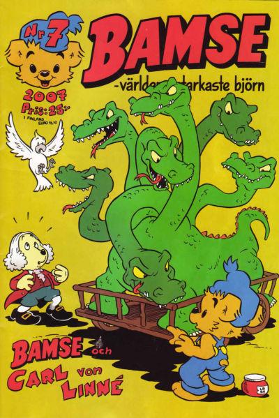 Cover for Bamse (Egmont, 1997 series) #7/2007