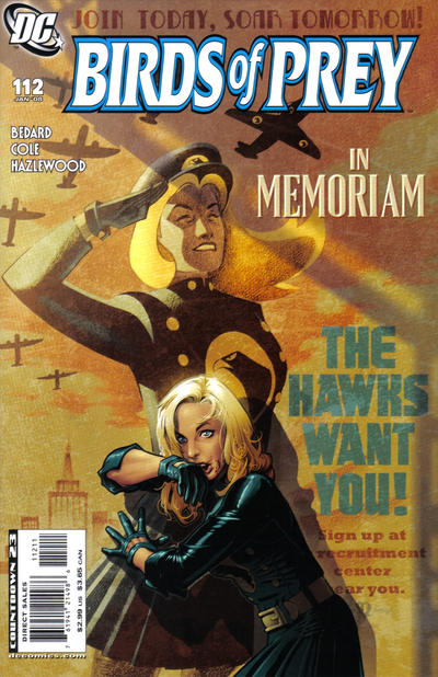 Cover for Birds of Prey (DC, 1999 series) #112