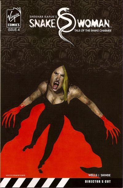 Cover for Snake Woman: Tale of the Snake Charmer (Virgin, 2007 series) #4