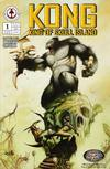 Cover for Kong: King of Skull Island (Markosia Publishing, 2007 series) #1 [Tommy Castillo Cover]