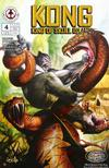 Cover for Kong: King of Skull Island (Markosia Publishing, 2007 series) #4 [Regular Cover]