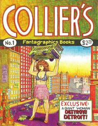 Cover Thumbnail for Collier's (Fantagraphics, 1991 series) #1