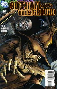 Cover Thumbnail for Gotham Underground (DC, 2007 series) #2
