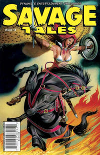 Cover for Savage Tales (Dynamite Entertainment, 2007 series) #4 [Cover A]