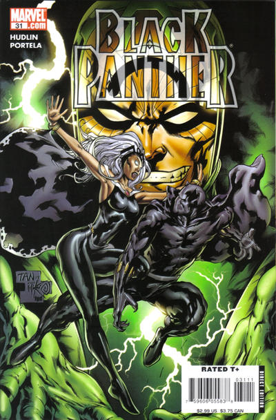Cover for Black Panther (Marvel, 2005 series) #31