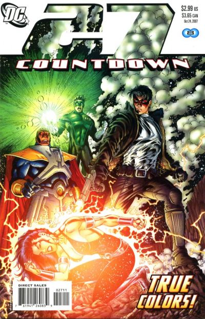 Cover for Countdown (DC, 2007 series) #27