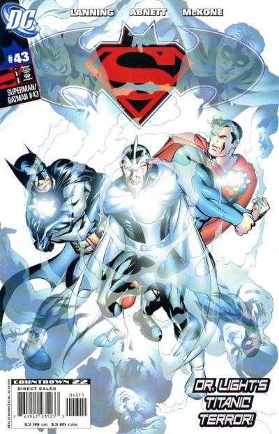 Cover for Superman / Batman (DC, 2003 series) #43