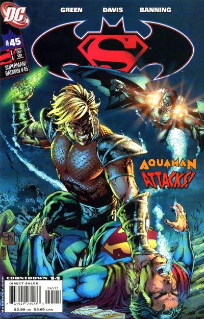Cover for Superman / Batman (DC, 2003 series) #45