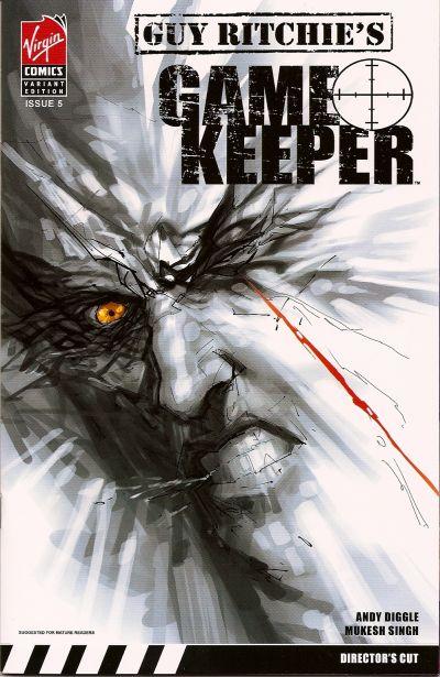 Cover for Gamekeeper (Virgin, 2007 series) #5 [Regular Cover]