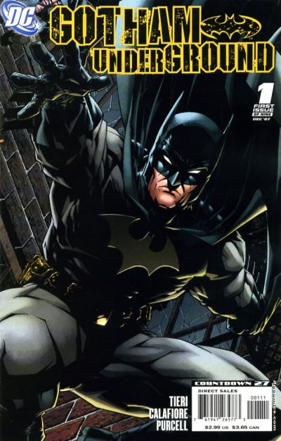 Cover for Gotham Underground (DC, 2007 series) #1
