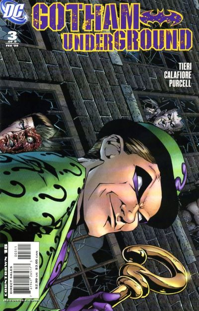Cover for Gotham Underground (DC, 2007 series) #3