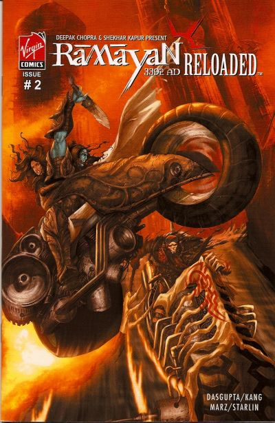 Cover for Ramayan 3392 AD Reloaded (Virgin, 2007 series) #2