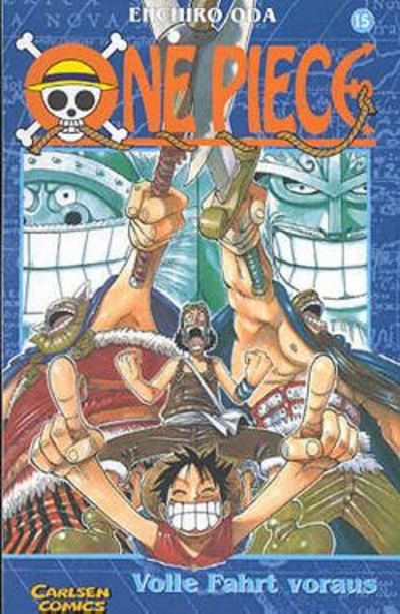 Cover for One Piece (Carlsen Comics [DE], 2001 series) #15 - Volle Fahrt voraus