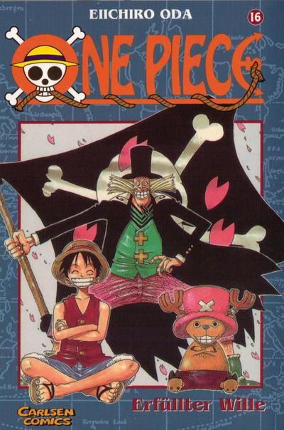 Cover for One Piece (Carlsen Comics [DE], 2001 series) #16