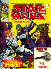 Cover Thumbnail for Star Wars Weekly (Marvel UK, 1978 series) #2