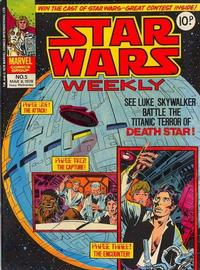 Cover Thumbnail for Star Wars Weekly (Marvel UK, 1978 series) #5