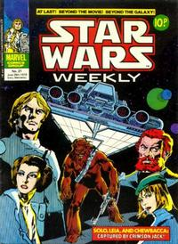 Cover Thumbnail for Star Wars Weekly (Marvel UK, 1978 series) #21