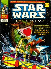 Cover Thumbnail for Star Wars Weekly (Marvel UK, 1978 series) #22