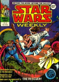 Cover Thumbnail for Star Wars Weekly (Marvel UK, 1978 series) #28