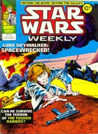 Cover Thumbnail for Star Wars Weekly (Marvel UK, 1978 series) #34