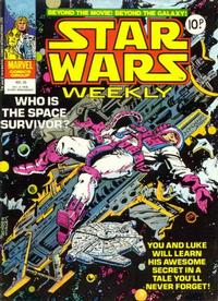 Cover Thumbnail for Star Wars Weekly (Marvel UK, 1978 series) #35