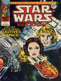 Cover Thumbnail for Star Wars Weekly (Marvel UK, 1978 series) #47
