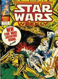 Cover Thumbnail for Star Wars Weekly (Marvel UK, 1978 series) #54