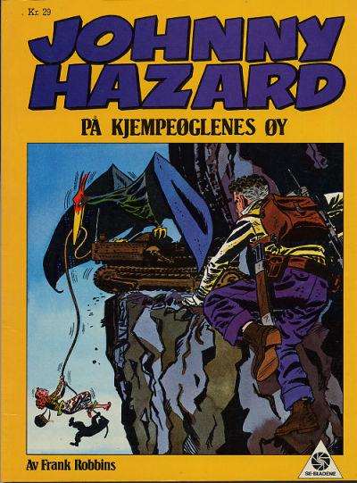 Cover for Johnny Hazard på kjempeøglenes øy (Serieforlaget / Se-Bladene / Stabenfeldt, 1986 series) #1