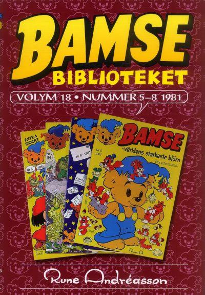 Cover for Bamsebiblioteket (Egmont, 2000 series) #18