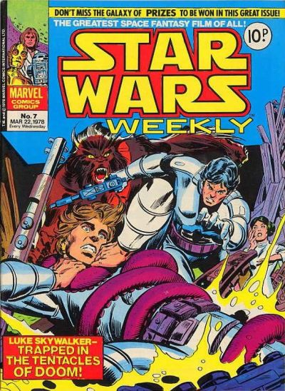 Cover for Star Wars Weekly (Marvel UK, 1978 series) #7
