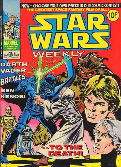 Cover for Star Wars Weekly (Marvel UK, 1978 series) #8
