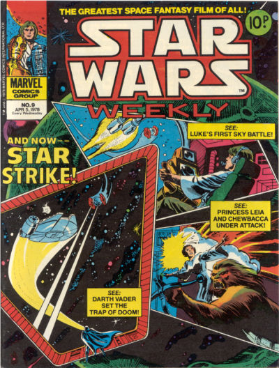 Cover for Star Wars Weekly (Marvel UK, 1978 series) #9
